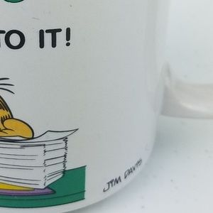 Garfield Dining - VTG GARFIELD Jim Davis Coffee Mug 1978